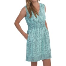 Aventura Clothing Zoelle Dress - V-Neck, Sleeveless (For Women) in Blue Tint - Closeouts