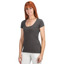 Aventura Clothing Zola T-Shirt - Short Sleeve (For Women) in Raven - Closeouts