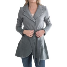 Aventura Clothing Zuri Jacket - Boiled Wool (For Women) in Frost Grey - Closeouts