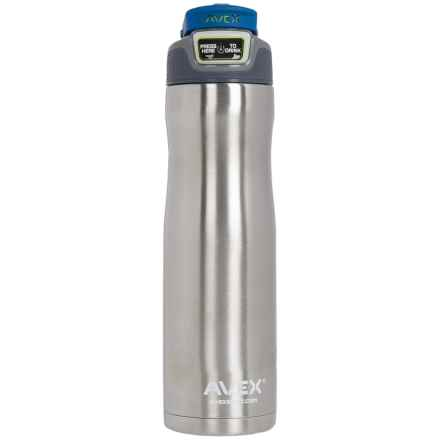 Avex Brazos Autoseal® Water Bottle - 24 fl.oz., Stainless Steel in Blue - Closeouts