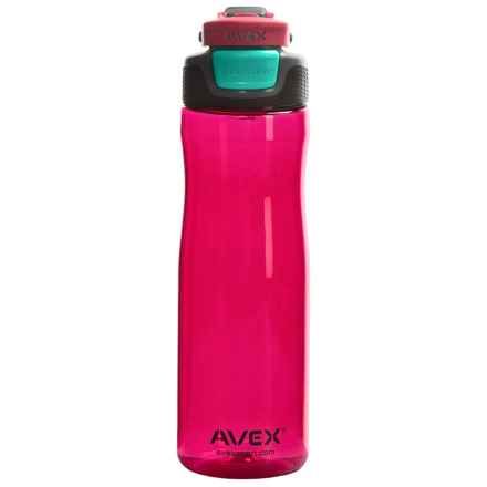 Avex Brazos Autoseal® Water Bottle - 25 fl.oz., BPA-Free in Berry - Closeouts