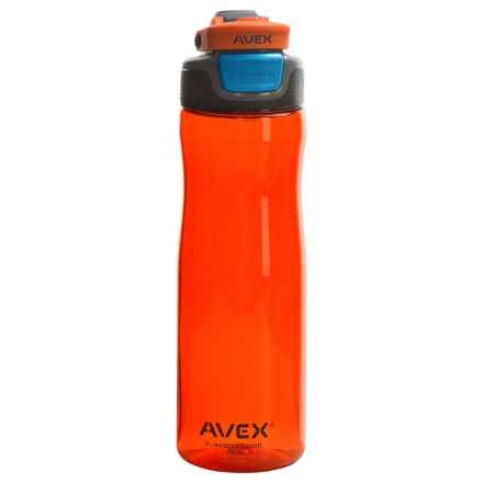 Avex Brazos Autoseal® Water Bottle - 25 fl.oz., BPA-Free in Burnt Orange - Closeouts