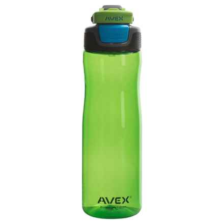 Avex Brazos Autoseal® Water Bottle - 25 fl.oz., BPA-Free in Electric Green - Closeouts