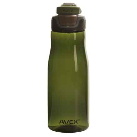 Avex Brazos Autoseal® Water Bottle - 32 fl.oz., BPA-Free in Olive - Closeouts