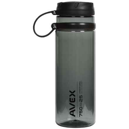 AVEX Fuse Water Bottle - 25 fl.oz., BPA-Free in Charcoal - Closeouts