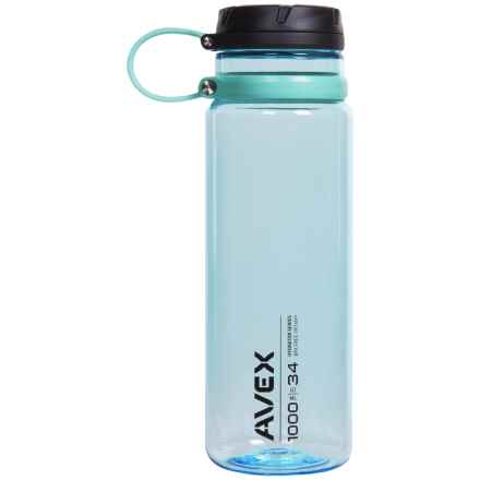 Avex Fuse Water Bottle - 34 fl.oz., BPA-Free in Ice - Closeouts