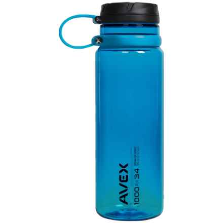 Avex Fuse Water Bottle - 34 fl.oz., BPA-Free in Ocean - Closeouts