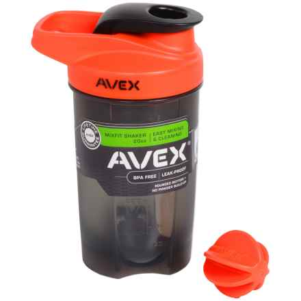 AVEX Mixfit Shaker Bottle - 20 fl.oz., BPA-Free in Orange - Closeouts