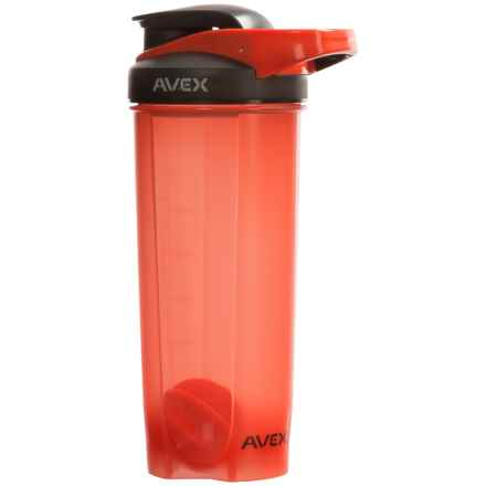 AVEX Mixfit Shaker Bottle with Carry Clip - 28 fl.oz., BPA-Free in Orange - Closeouts