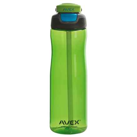 Avex Wells Autospout® Water Bottle - 25 fl.oz., BPA-Free in Electric Green - Closeouts