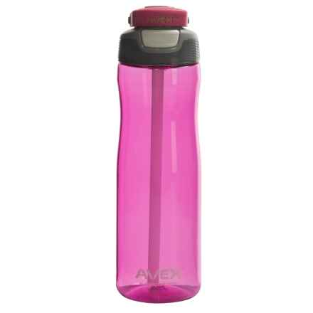 Avex Wells Autospout® Water Bottle - 25 fl.oz., BPA-Free in Pink - Closeouts