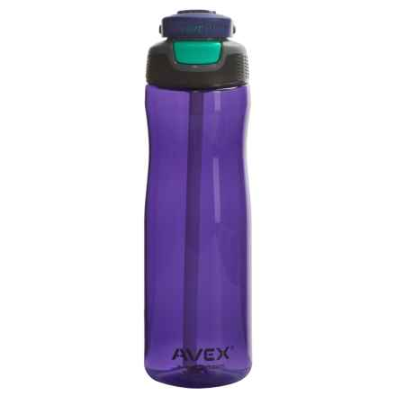 AVEX Wells Autospout® Water Bottle - 25 fl.oz., BPA-Free in Purple/Teal - Closeouts