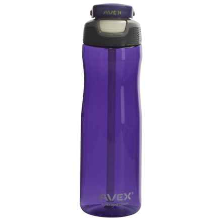 AVEX Wells Autospout® Water Bottle - 25 fl.oz., BPA-Free in Purple - Closeouts