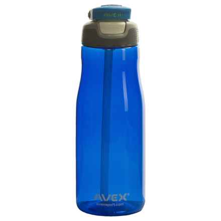 AVEX Wells Autospout® Water Bottle - 32 fl.oz., BPA-Free in Blue - Closeouts