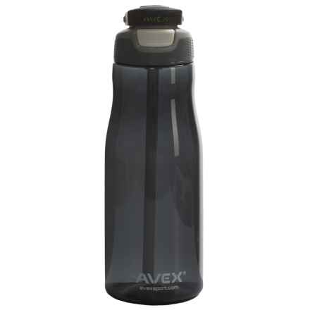AVEX Wells Autospout® Water Bottle - 32 fl.oz., BPA-Free in Charcoal - Closeouts