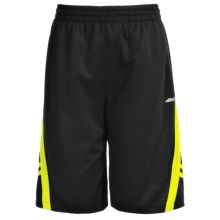 Avia High-Performance Shorts (For Little and Big Boys) in Black/Safety Yellow - Closeouts
