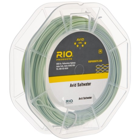 Image of Avid Series Saltwater Floating Fly Line - Weight Forward, 90?