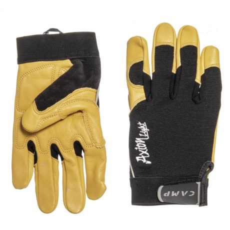 Image of Axion Light Gloves - Leather and Textile