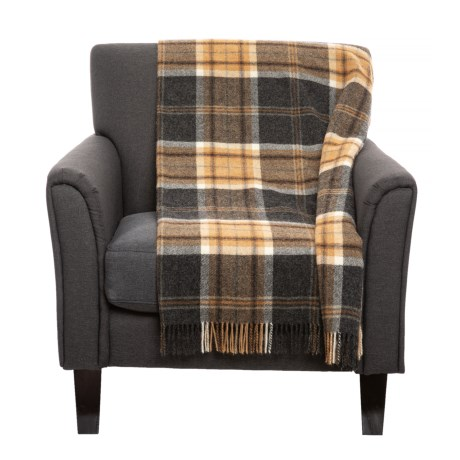 Image of Aysgarth Shetland Throw Blanket - New Wool, 40x60?