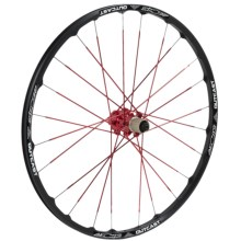 """Azonic Outcast Mountain Bike Wheelset - 26"""" in Red/Black - Closeouts"""