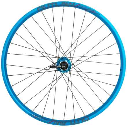 """Azonic Outlaw 26"""" Wheelset in Anodized Blue - Closeouts"""