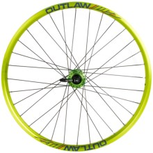 "Azonic Outlaw 26"" Wheelset in Anodized Green - Closeouts"