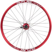 "Azonic Outlaw 26"" Wheelset in Anodized Red - Closeouts"