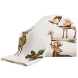 Azores Deer Flannel Sheet Set - King