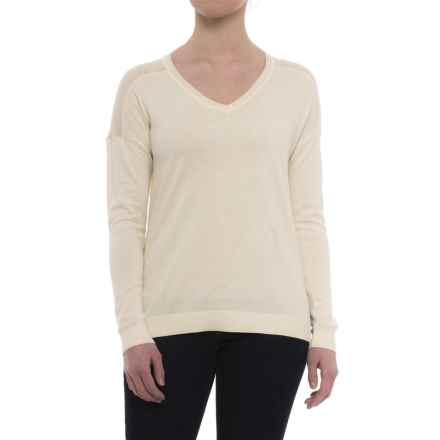 B Collection by Bobeau Alaga Sweater (For Women) in Ivory - Closeouts