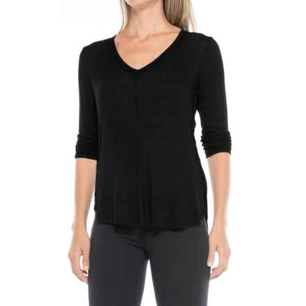 B Collection by Bobeau Alice Shirt - Long Sleeve (For Women) in Black - Closeouts