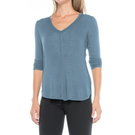 B Collection by Bobeau Alice Shirt - Long Sleeve (For Women) in Blue