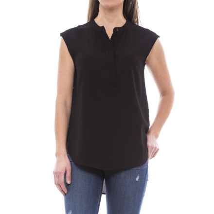B Collection by Bobeau Allegra Blouse - Sleeveless (For Women) in Black - Closeouts