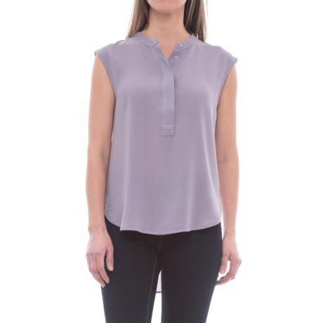 B Collection by Bobeau Allegra Blouse - Sleeveless (For Women) in Lilac