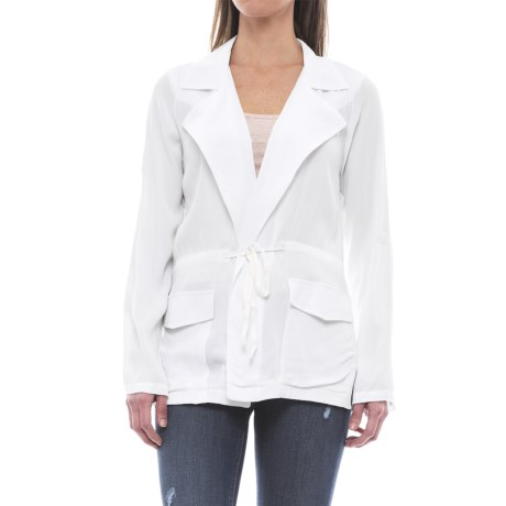 B Collection by Bobeau Ardine Jacket (For Women) in Ivory
