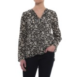B Collection by Bobeau Cristy Pleat Back Shirt - Long Sleeve (For Women)