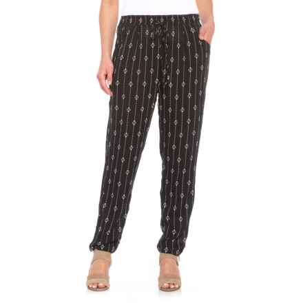 B Collection by Bobeau Madison Pants (For Women) in Black Print - Closeouts