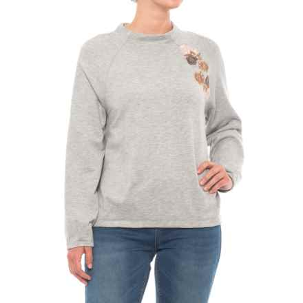 B Collection by Bobeau Winnie Shirt - Long Sleeve (For Women) in H Grey - Closeouts