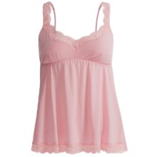 B Up Kathy Camisole - Supersoft Pima-Modal, Spaghetti Straps (For Women) in Blush - Closeouts