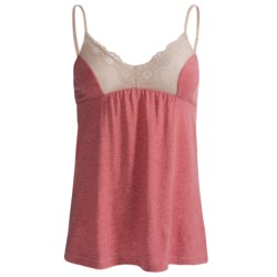 B Up Vicky Camisole - Supersoft Pima-Modal, Spaghetti Strap (For Women) in Print