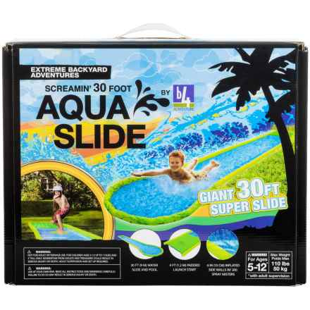 b4Adventure Aqua Slide Giant Water Slide - 30' in See  Photo - Closeouts