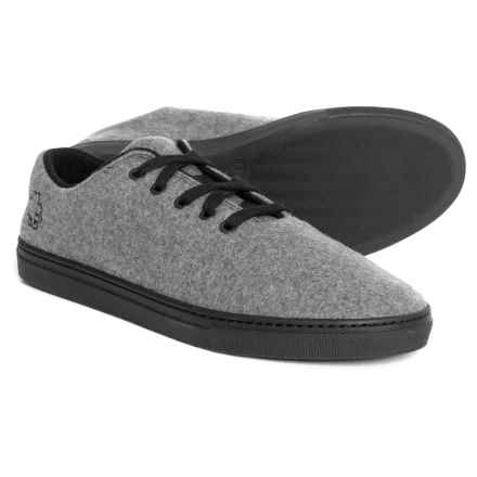Baabuk Jeremy Sneakers - Wool (For Men and Women) in Grey/Black - Closeouts