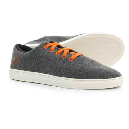 ca3997b7678a Baabuk Jeremy Sneakers - Wool (For Men and Women) in Grey Orange -
