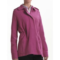Babette Ballinger Boiled Wool Jacket (For Women) in Raspberry