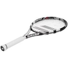 Babolat Drive 105 Strung Tennis Racquet (For Men and Women) in White/Black - Closeouts