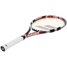 Babolat Drive Tour Strung Tennis Racquet (For Men and Women) in Red/White - Closeouts