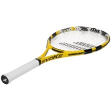 Babolat Evoke 105 Strung Tennis Racquet (For Men and Women) in Black/Yellow - Closeouts