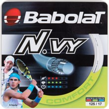Babolat N.VY 17G Tennis Racquet String in White - Closeouts