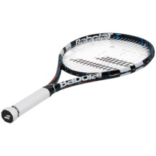 Babolat Pure Drive Junior 25 Strung Tennis Racquet (For Big Kids) in Black/Blue - Closeouts