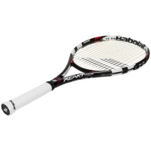Babolat Reakt Tour Strung Tennis Racquet (For Men and Women) in Black/Red - Closeouts