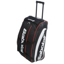 Babolat Team Line 100L Rolling Duffel Bag in Black/Red - Closeouts